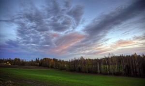 Baserri landa (Rural landscape)