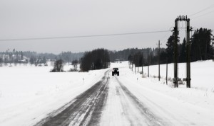 Negu errepidea (Winter road)