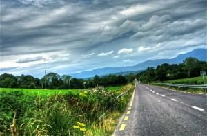 Errepide bakartia (Solitary road)