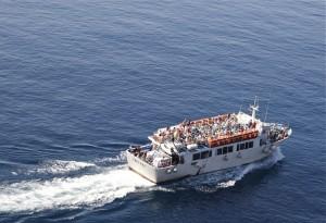Untziaren arrastoa (The track of the boat)