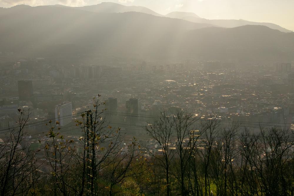 Bilbo negu arratsaldez (Bilbao in a winter evening)